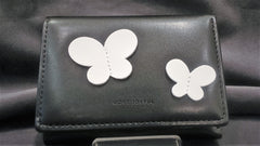 Wallet Black White Butterflies