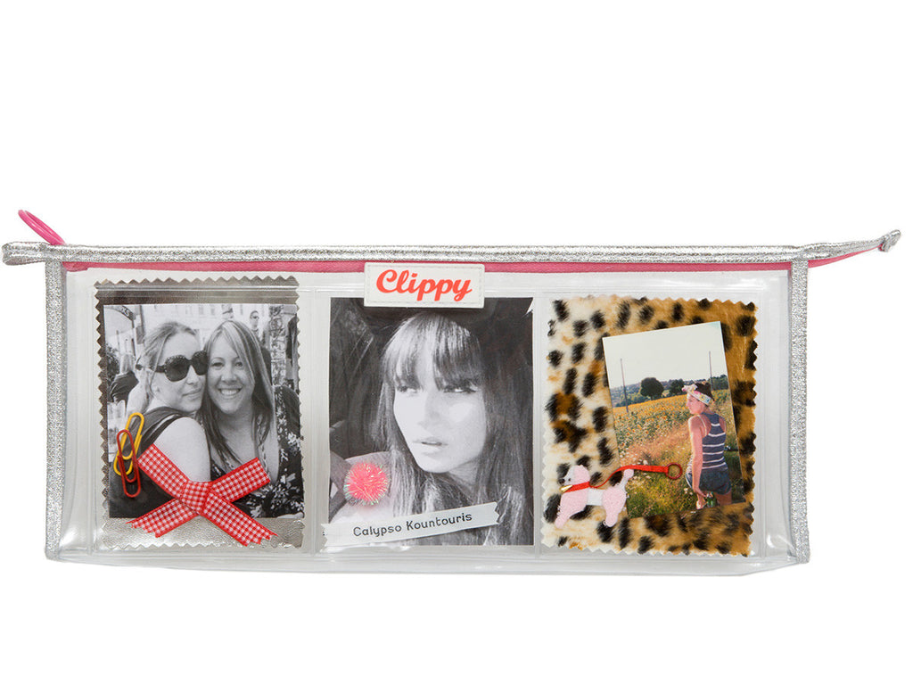 Style Your Own Photo Pencil Case - Silver