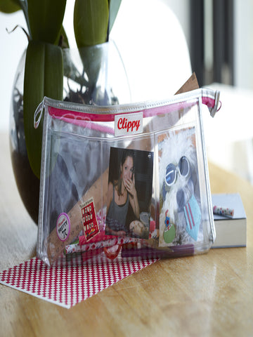 Clippy London Photo Display Pencil Case