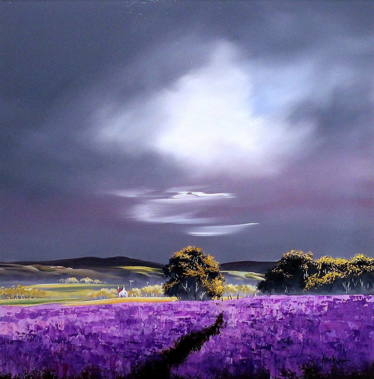 Passing Storm - SOLD Allan Morgan