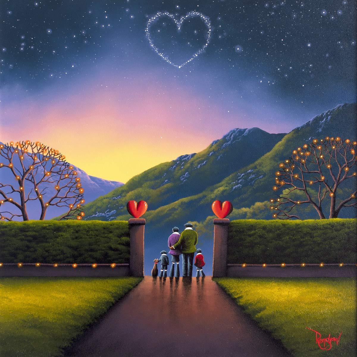 Gateway To Happiness David Renshaw Framed