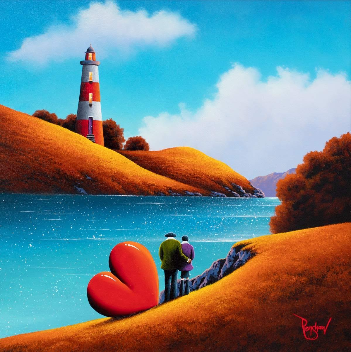 Light of My Life - Original David Renshaw Framed