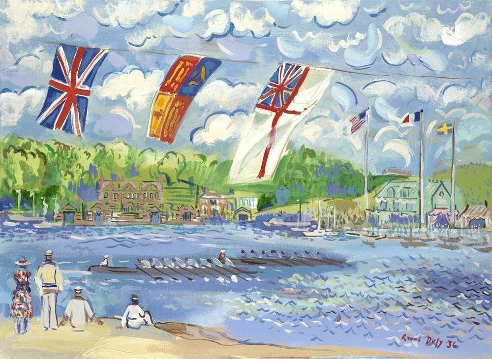 Regatta On The Thames John Myatt