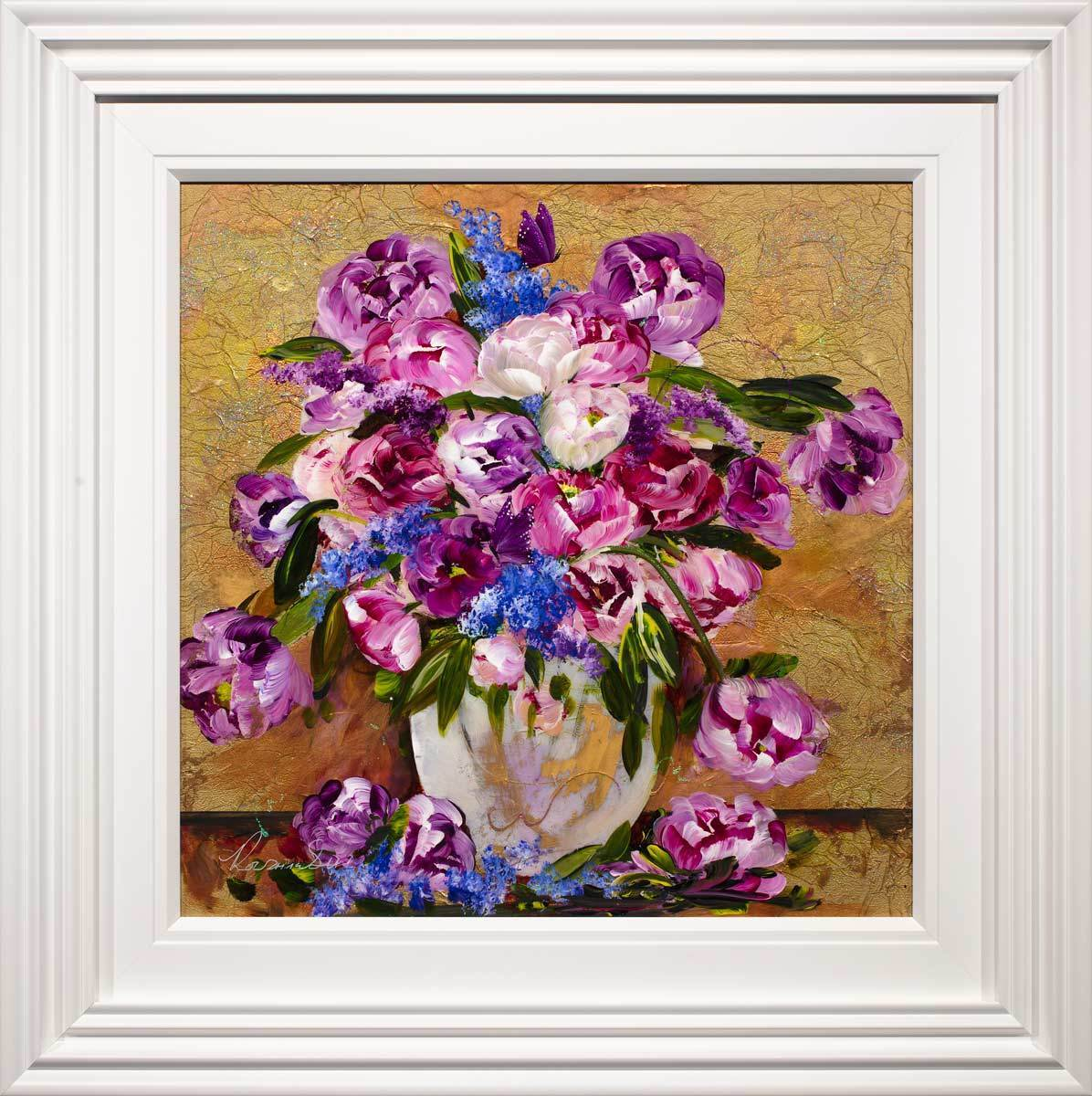 Hand Picked For You - Original Rozanne Bell Framed