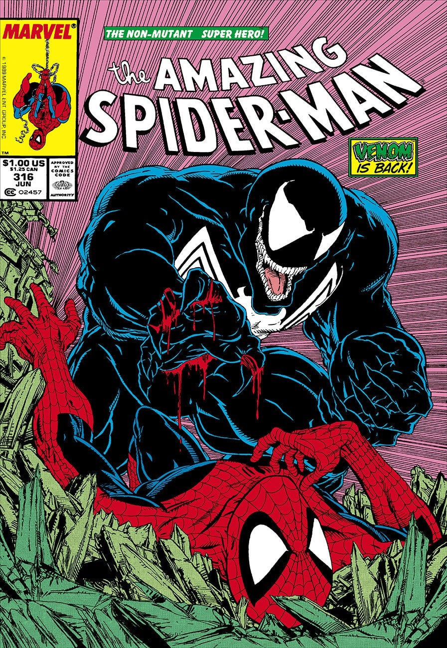 The Amazing Spider-Man #316 - Venom Is Back! - RARE Stan Lee