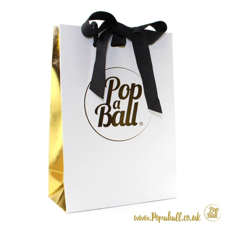 4 Popaball Shimmer Gift Bag