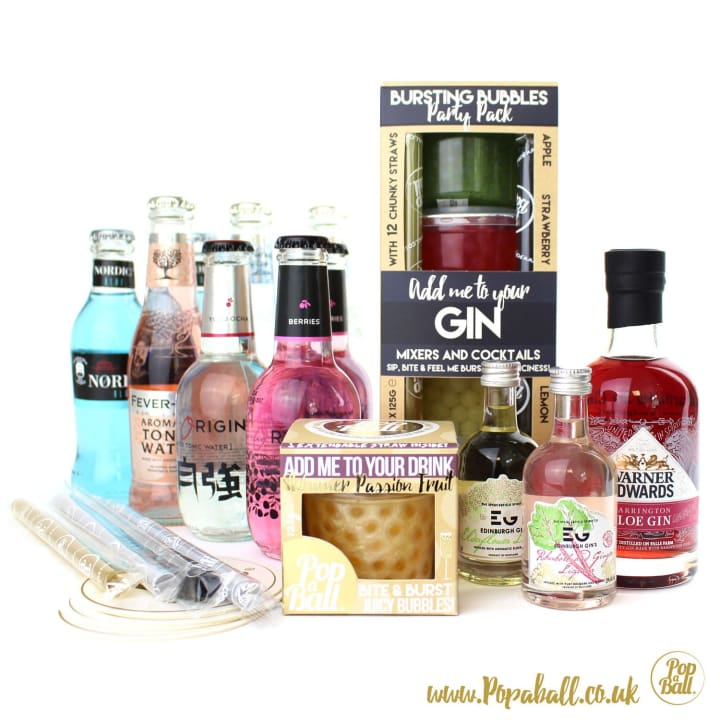 Large Pimp Your Gin Party Kit - Gin And Bubbles