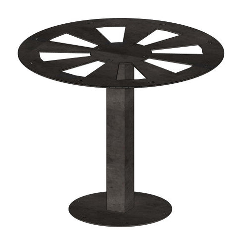 Pedestal Tube Steel Table Base