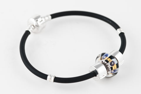 Warrior bead on our sporty bracelet