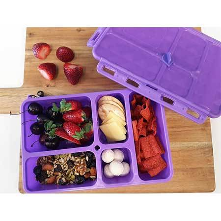 Go Green Snack Box - Purple