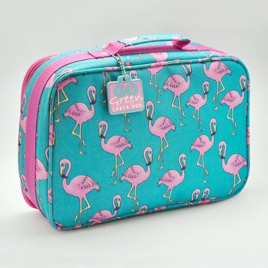 Go Green Original Bag - Flamingo (no lunch box included)