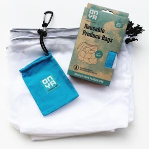Onya Reusable Produce Bags - 5 Pack - Turquoise