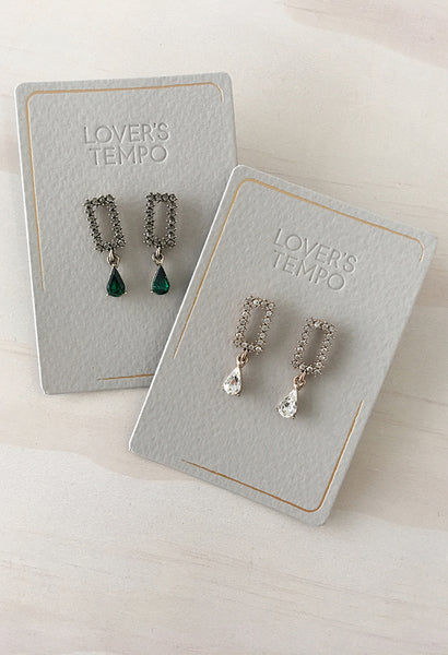 Met Drop Earrings