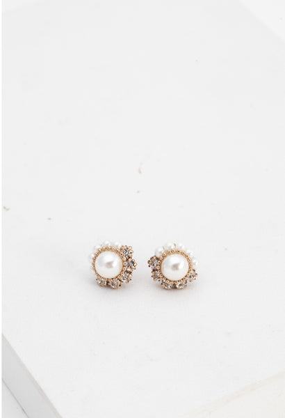 Empress Pearl Post Earrings