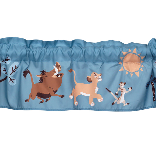 Lion King Adventure Window Valance - Lambs & Ivy
