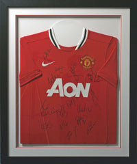Manchester United Team 2011/12 Signed Shirt