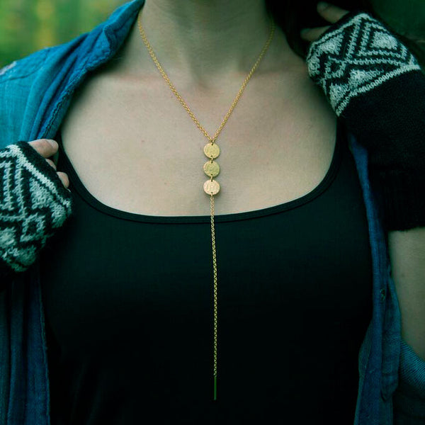 Self Confidence Necklace - Gold, Guatemala