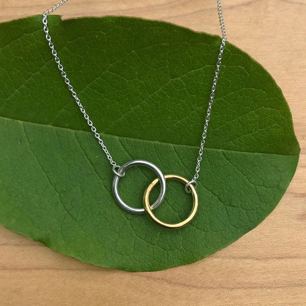 Linked Forever Necklace - Sterling silver, India