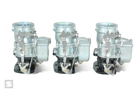 Stromberg Big 97 Tri-power with linkage and fuel lines 750 CFM