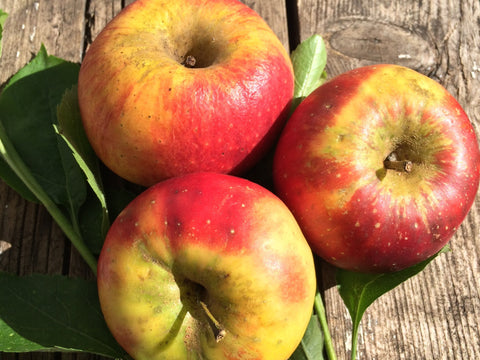 Organic Unwaxed Apples