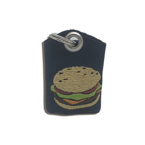 "Hamburger ""Tag Bag"" medal protector and silencer"
