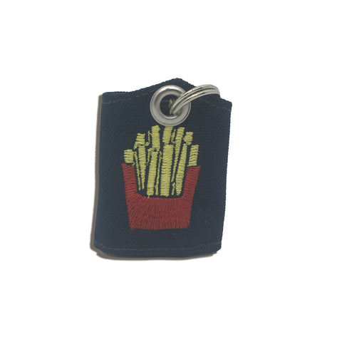"French Fries ""Tag Bag"" medal protector and silencer"