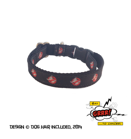 Ghostbusters kitty collar