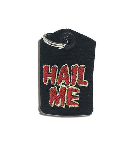 """Hail Me"" Last Podcast on the Left medal protector and silencer"