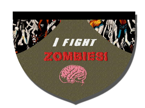 I fight zombies!!! bandana