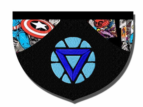 Iron Man-inspired Arc Reactor bandana