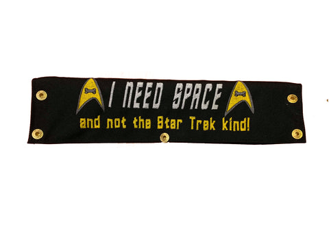 I need space: And not the Star Trek kind!