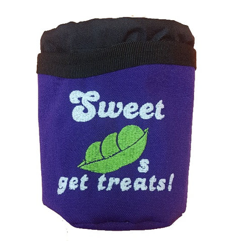 Sweetpea treat pouch and water bowl