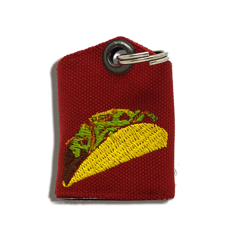"Taco ""Tag Bag"" medal protector and silencer"
