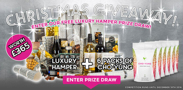 WIN a Luxury Christmas Hamper! FREE Prize Draw!