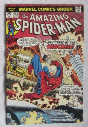 The Amazing Spider-Man #152 (Jan 1976, Marvel) Shocker High Grade VF 8.0