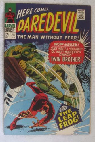 Daredevil #25 (Feb 1967, Marvel) Gene Colan pencils High Grade VF+ 8.5