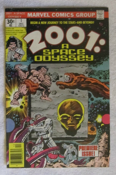 2001: A Space Odyssey #1 (1976, Marvel) FN- 5.5