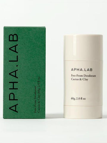 Apha Lab Natural Deodorant Cactus & Clay