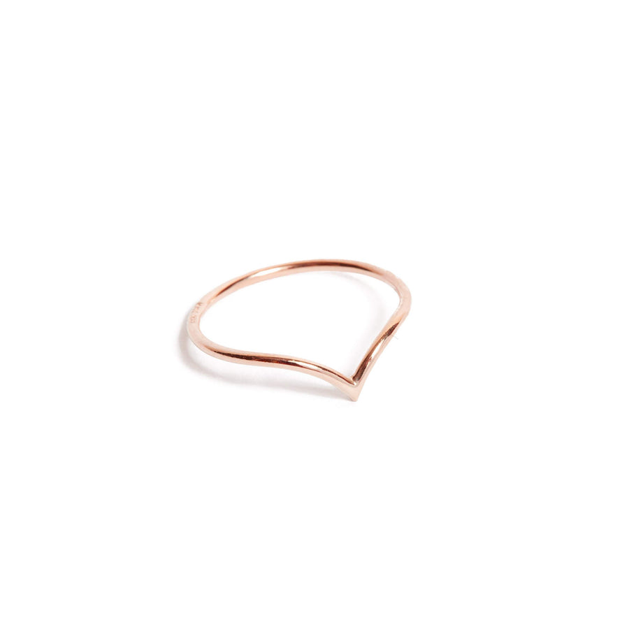 Neptune Ring - 9ct Rose Gold