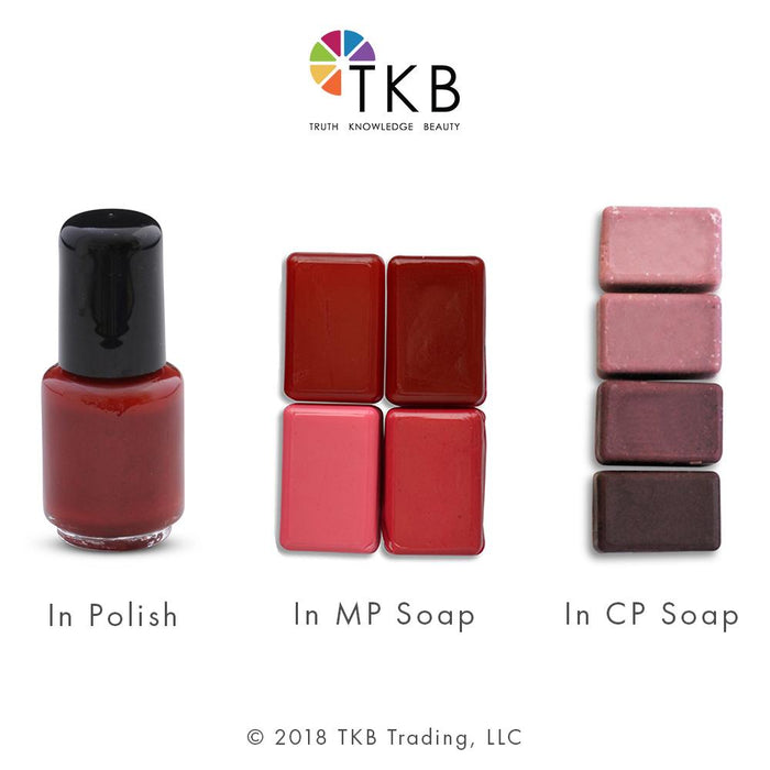 TKB Matte Red Pop