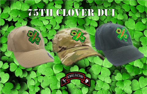 Hat - 75th DUI Clover