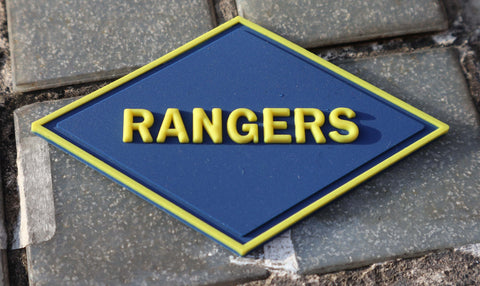 Rangers WWII PVC patch Pre-Order