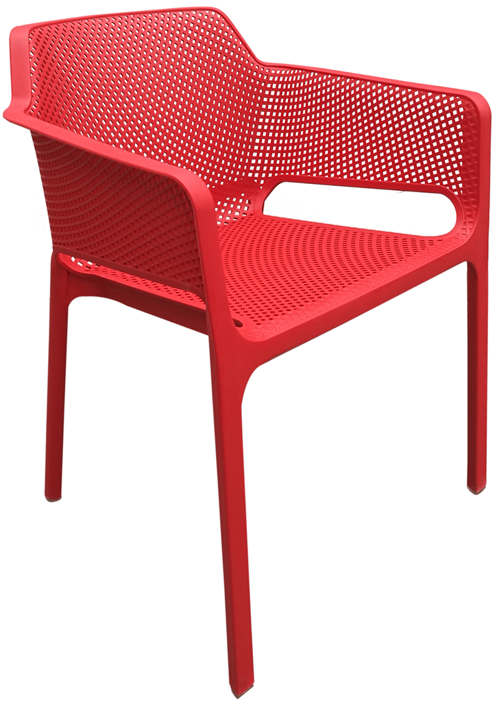 elevenpast Red Breeze Armchair