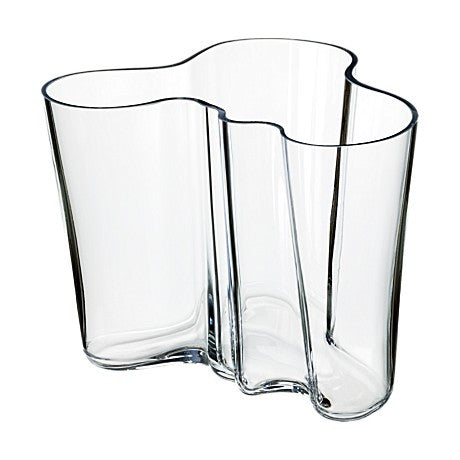 Aalto vase clear 160 mm