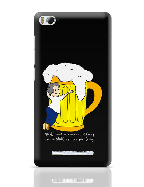 Xiaomi Mi 4i Covers | Beer Love Your Enemy Xiaomi Mi 4i Cover Online India