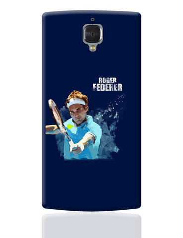 Roger Federer Art Splash  OnePlus 3 Cover Online India