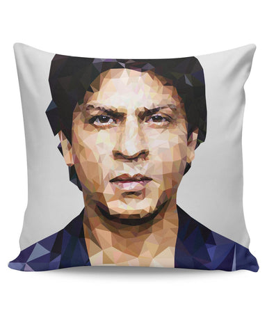 PosterGuy | Shahrukh Khan Low Poly Art Cushion Cover Online India