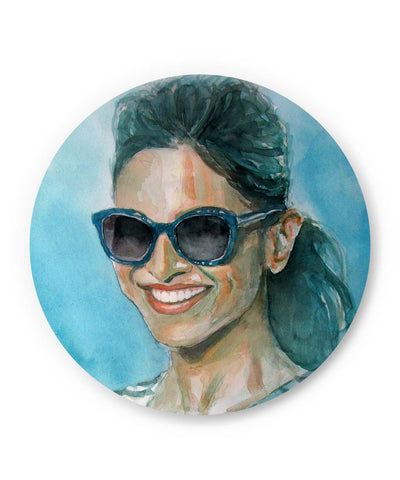 PosterGuy | Deepika Padukone | Live Love Laugh Fridge Magnet Online India by Anshu_Art