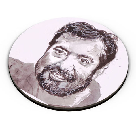 PosterGuy | Anurag Kashyap | Sketch Painting Fridge Magnet Online India by HeartAtArt