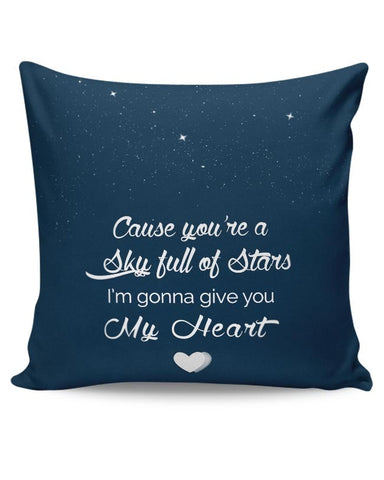 PosterGuy | Sky Full Of Stars Cushion Cover Online India